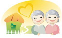 Sweet Lovers - stock illustration