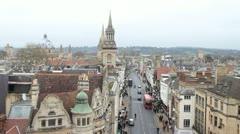 Stock Video Footage of Historic city skyline