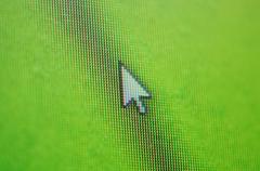 Mouse cursor Stock Photos