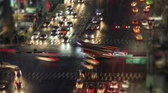 Seoul City Zoom Stock Footage