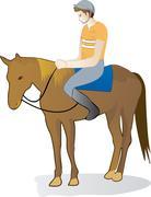 Equestrian Stock Illustration