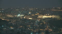 0084Old city night Stock Footage