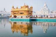 Stock Photo of golden temple, amritsar, india