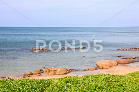 Stock photo of White Sand Beach