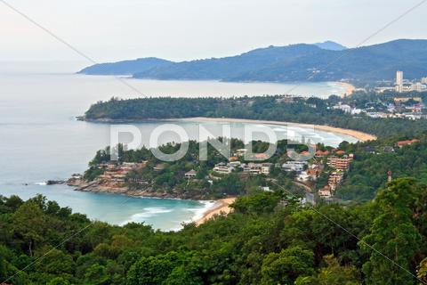 Stock photo of phuket viewpoint thailand