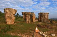 Thailand stonehenge Stock Photos