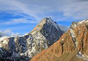 Aerial view of aoraki mount cook mountain alpine alps range in new zealand Stock Photos
