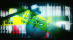 Justice System Theme Background Stock Footage