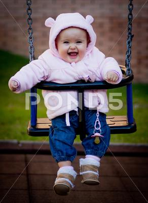 Stock photo of baby portrait