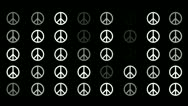 Stock Video Footage of Peace Symbol Background