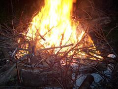 Fire-Intense Fire Stock Photos