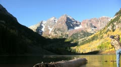 Maroon Bells Photography Stock Footage