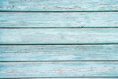blue painted house wall - stock photo