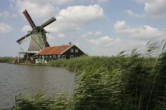 Zider Zee Windmill - stock photo