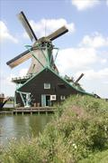 Windmill of Holland - stock photo