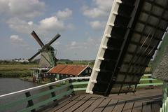 Windmill terrace Stock Photos