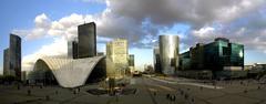 La defense panoramic, paris Stock Photos
