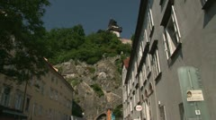 Graz viewpoint, Austria Stock Footage