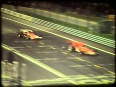 F1 race in Barcelona Stock Footage
