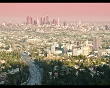 Timelapse Los Angeles Stock Footage