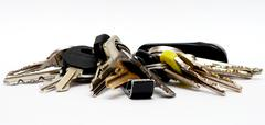 Group of keys Stock Photos