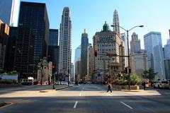 Stock Photo of Chicago Downtown