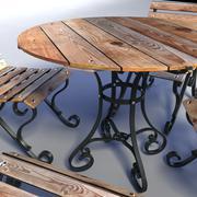 Terrace Table 3D Model