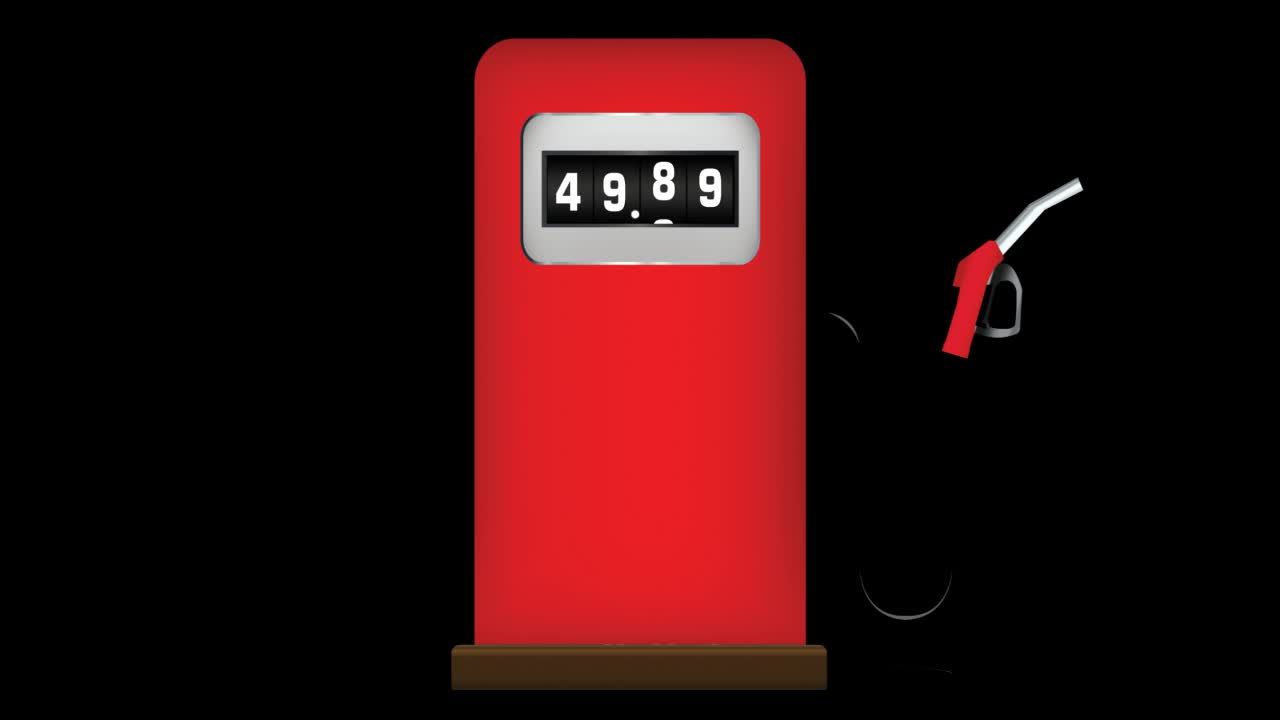 After Effects Project - Pond5 Gas Pump Rising Cost 20912916