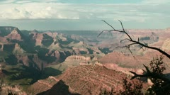 Grand Canyon Sunset Time Lapse Stock Footage