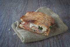 italian sandwich - stock photo