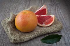Pink grapefruit Stock Photos