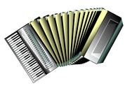 Stock Illustration of accordion