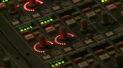 Sound Board - 01 - stock footage