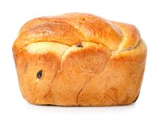 bread with raisin - stock photo