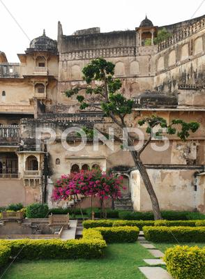 Stock photo of bundi palace