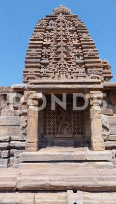 Stock photo of temple at pattadakal