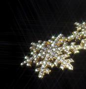 jewellery in dark back - stock photo