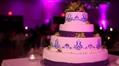 Modern Wedding Cake | slider Stock Footage