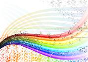 Notes rainbow Stock Illustration