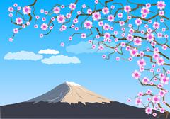 Stock Illustration of fuji
