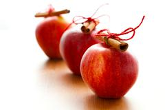 christmas apples - stock photo