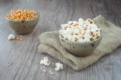 Pop corn Stock Photos