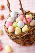 Easter candy Stock Photos