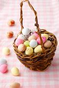 easter candy - stock photo