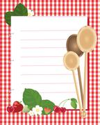 Kitchen reminder Stock Illustration