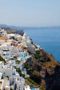 Thira, santorini, greece Stock Photos