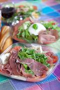salads - stock photo
