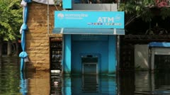 Thailand Ayutthaya Flood 9666 - stock footage