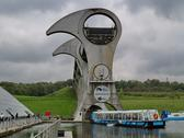 Falkirk wheel in Scotland Stock Photos