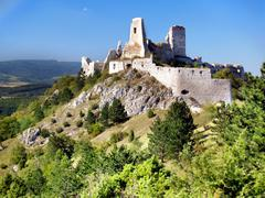 The Castle of Cachtice - stock photo